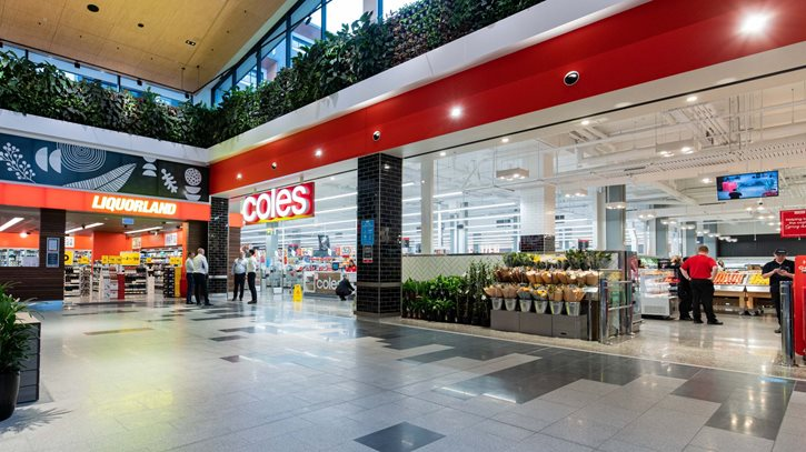 Coles opens at Ed.Square Town Centre. Frasers Property Australia