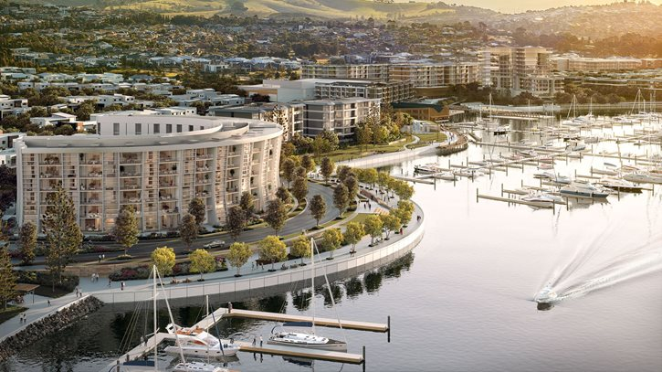 Nautilus at The Waterfront, Shell Cove by Frasers Property Australia and Shellharbour City Council