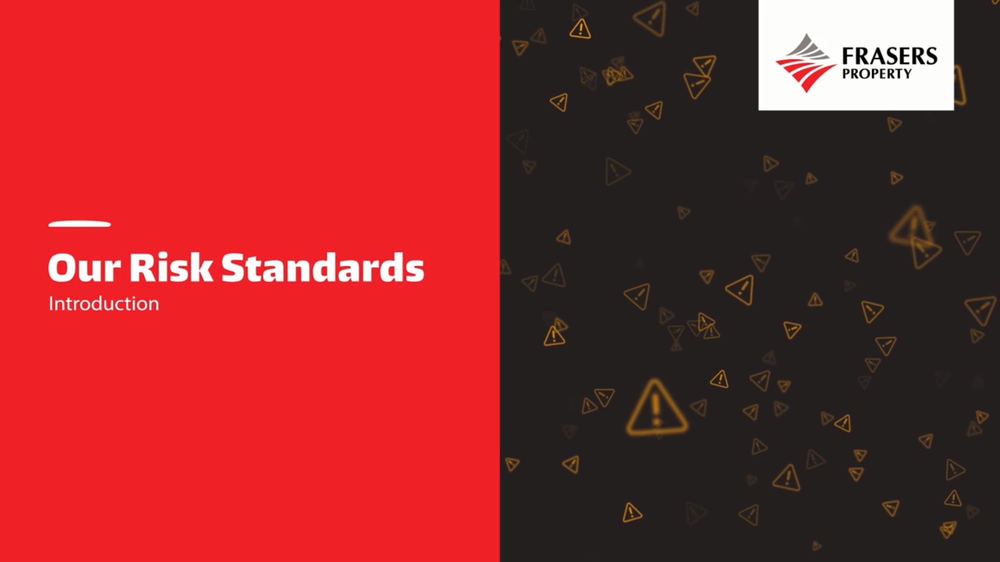 Introduction to Our Risk Standards