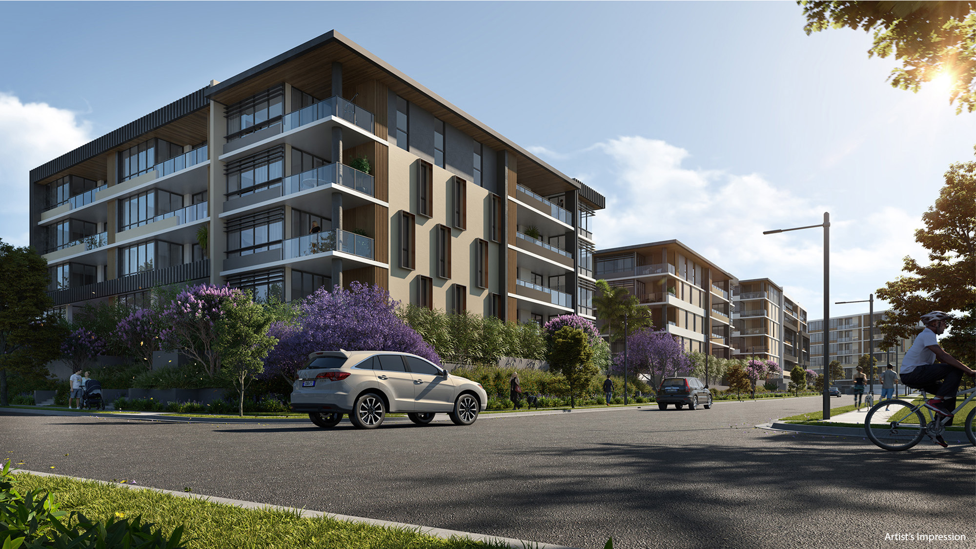 Apartments in Blacktown, Fairwater Green