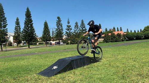 Bike skills and tricks