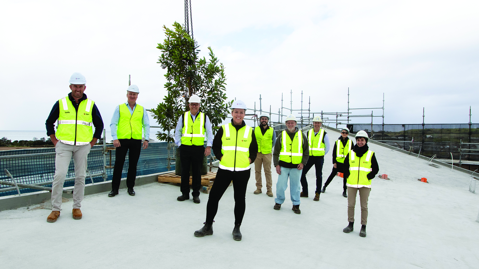 topping out ceremony aqua