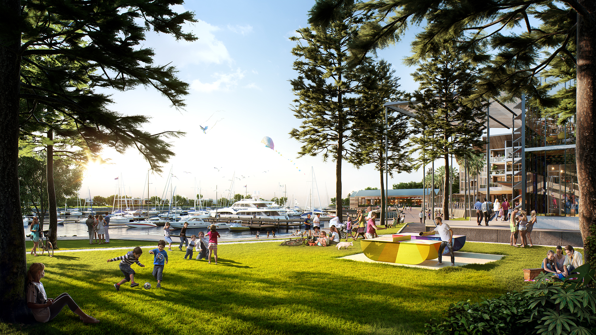 Future Park & Marina, The Waterfront Shell Cove