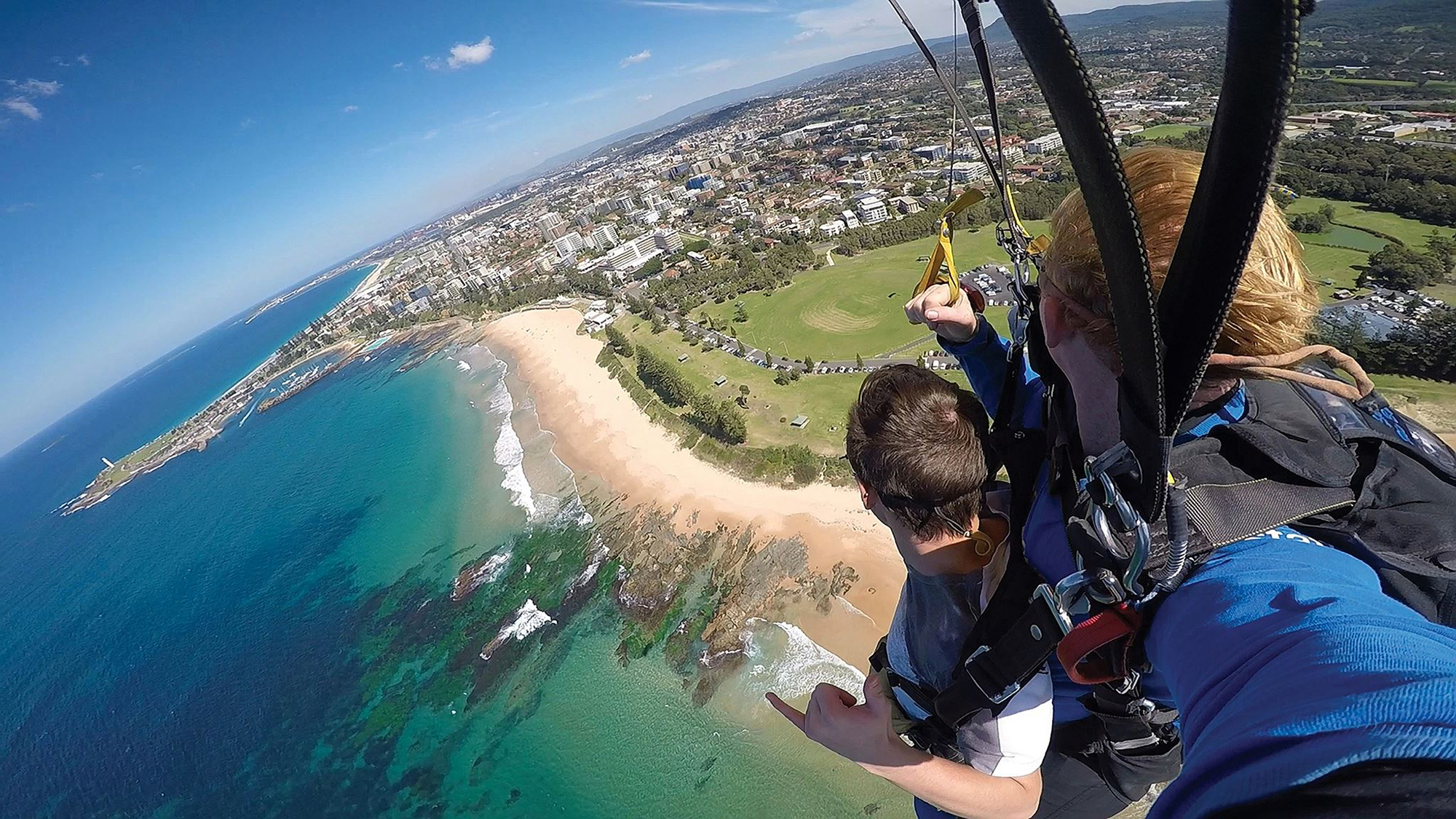 sky diving Shell Cove