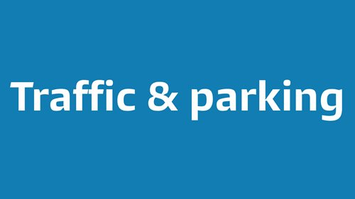 Traffic and parking