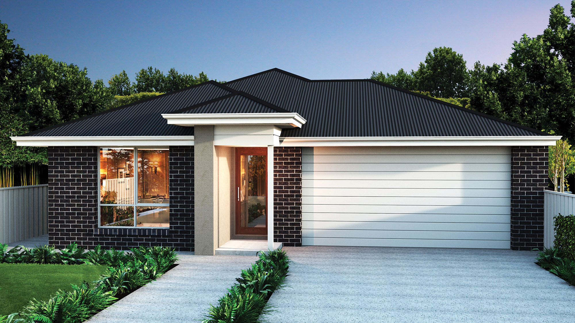 Dwyer Quality Homes Facade Brookhaven Frasers Property Australia