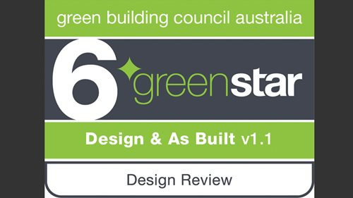 6 Star Green Star Design & As-Built Award