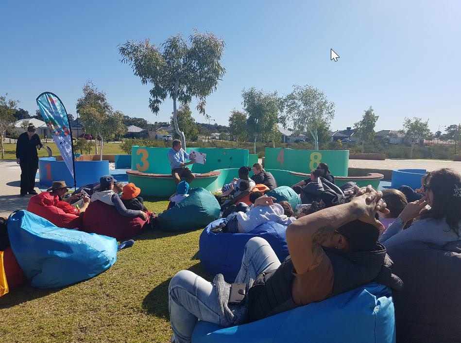 Baldivis Parks pop up story time