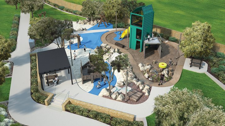 New Port Coogee playground