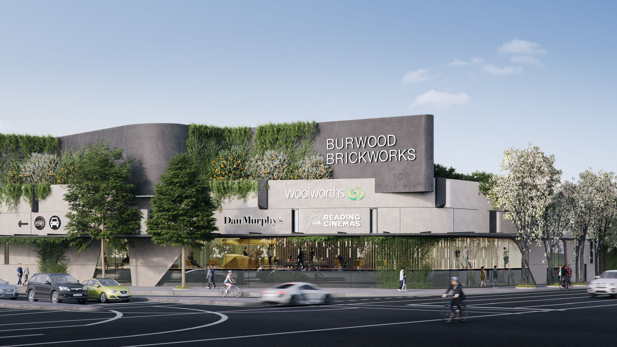 Burwood Brickworks shopping centre, open december 2019 | Frasers Property Australia