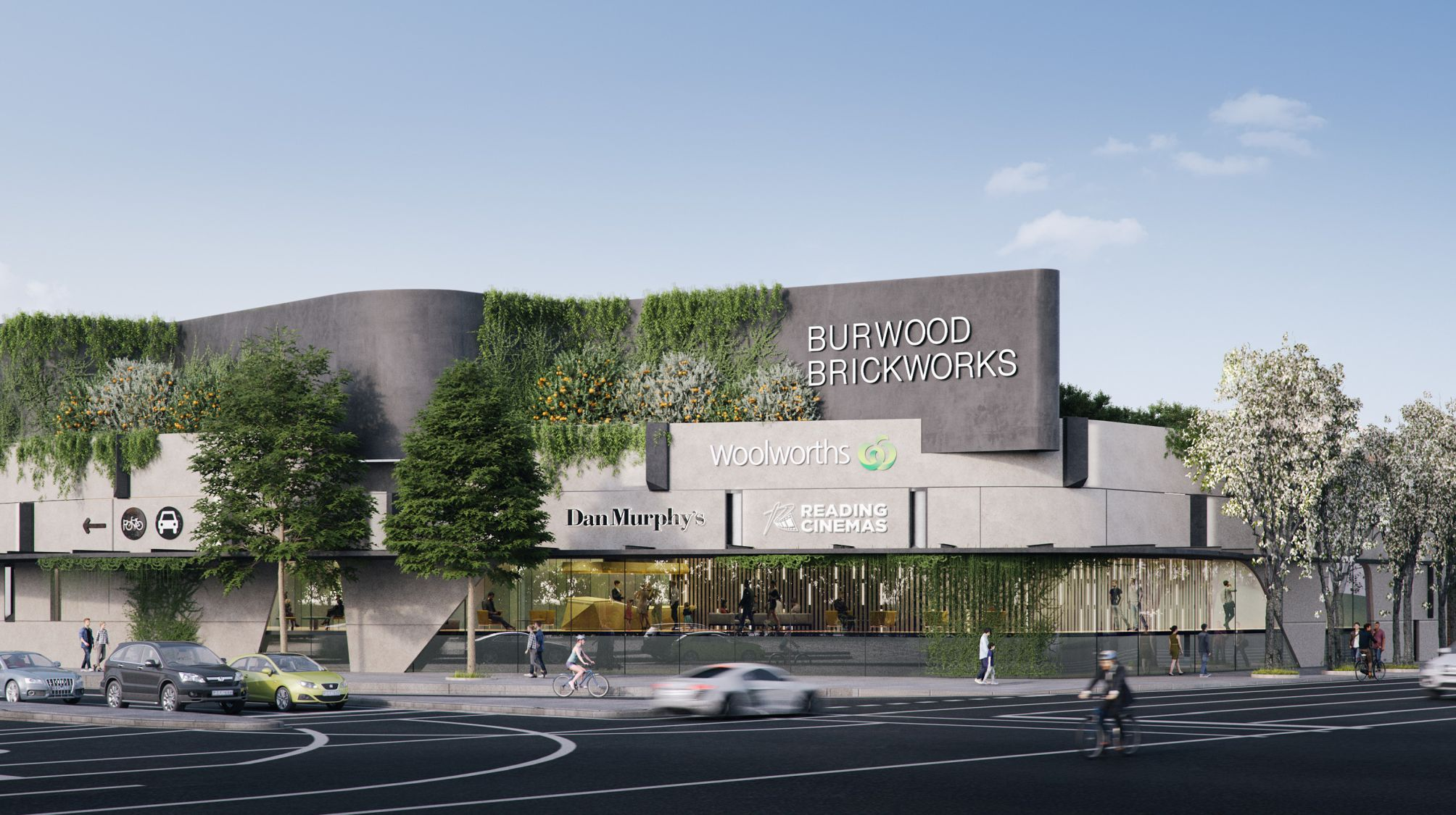 Burwood Brickworks Reading Cinemas