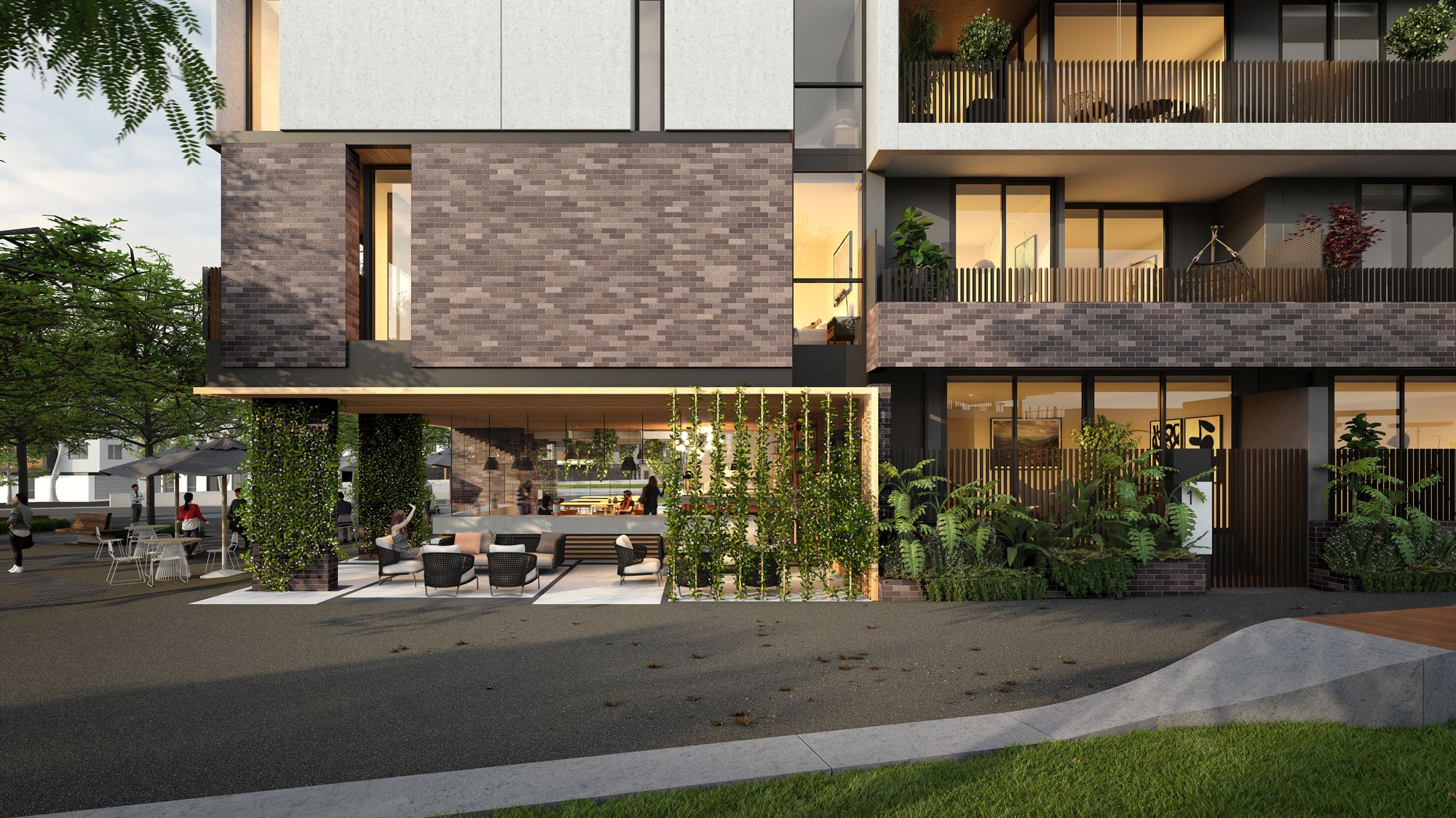 The Garden Apartments, Burwood Brickworks, Frasers Property Australia