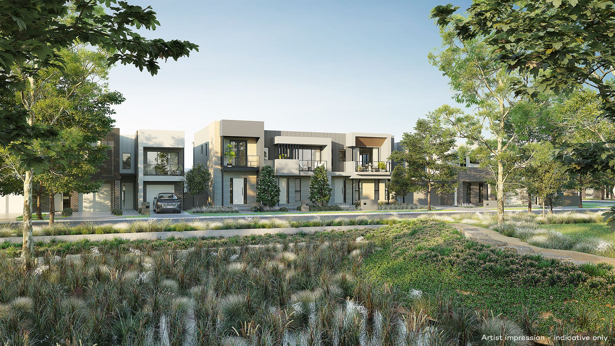 Fairwater, Central Park residences, Blacktown, Frasers Property Australia