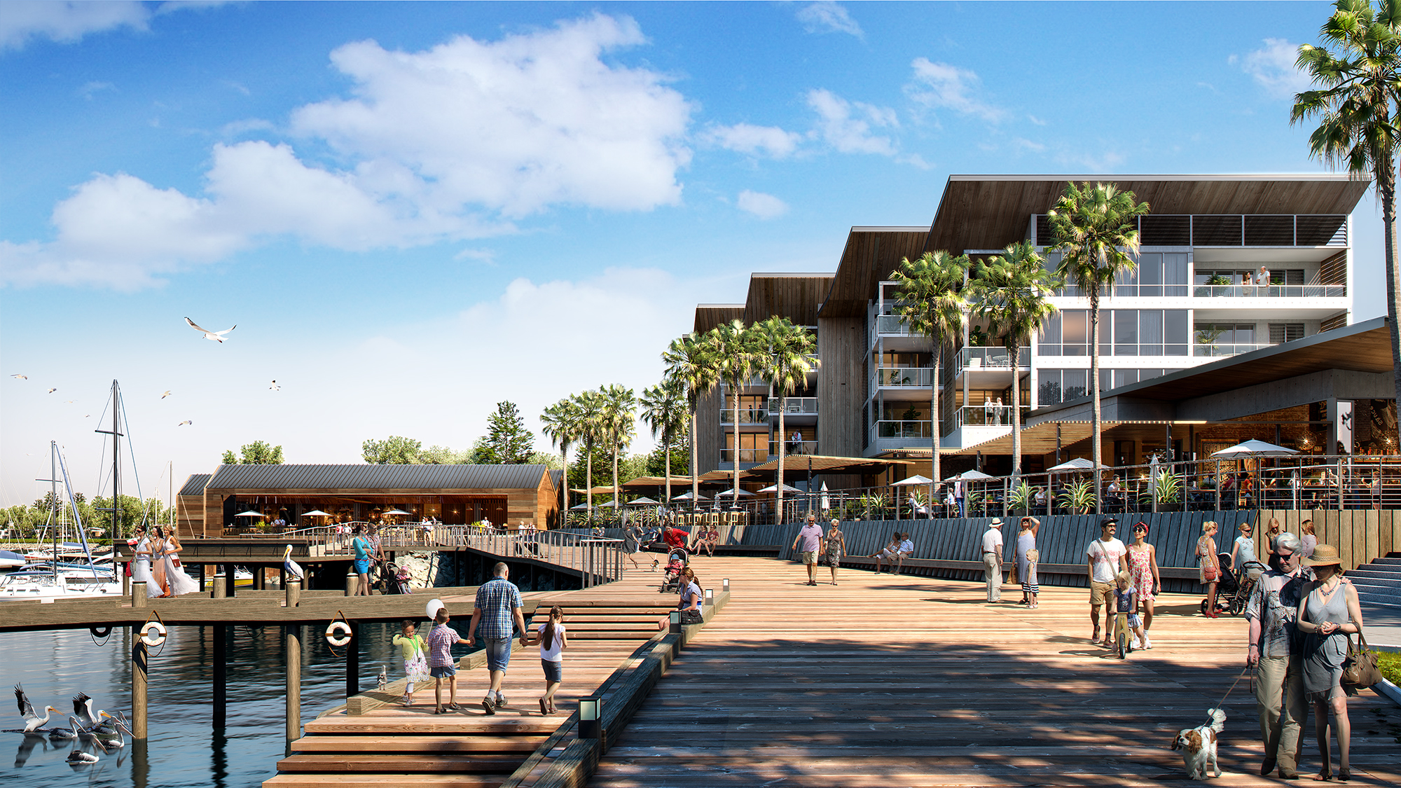 Stage One Of New Shell Cove Town Centre Fully Leased