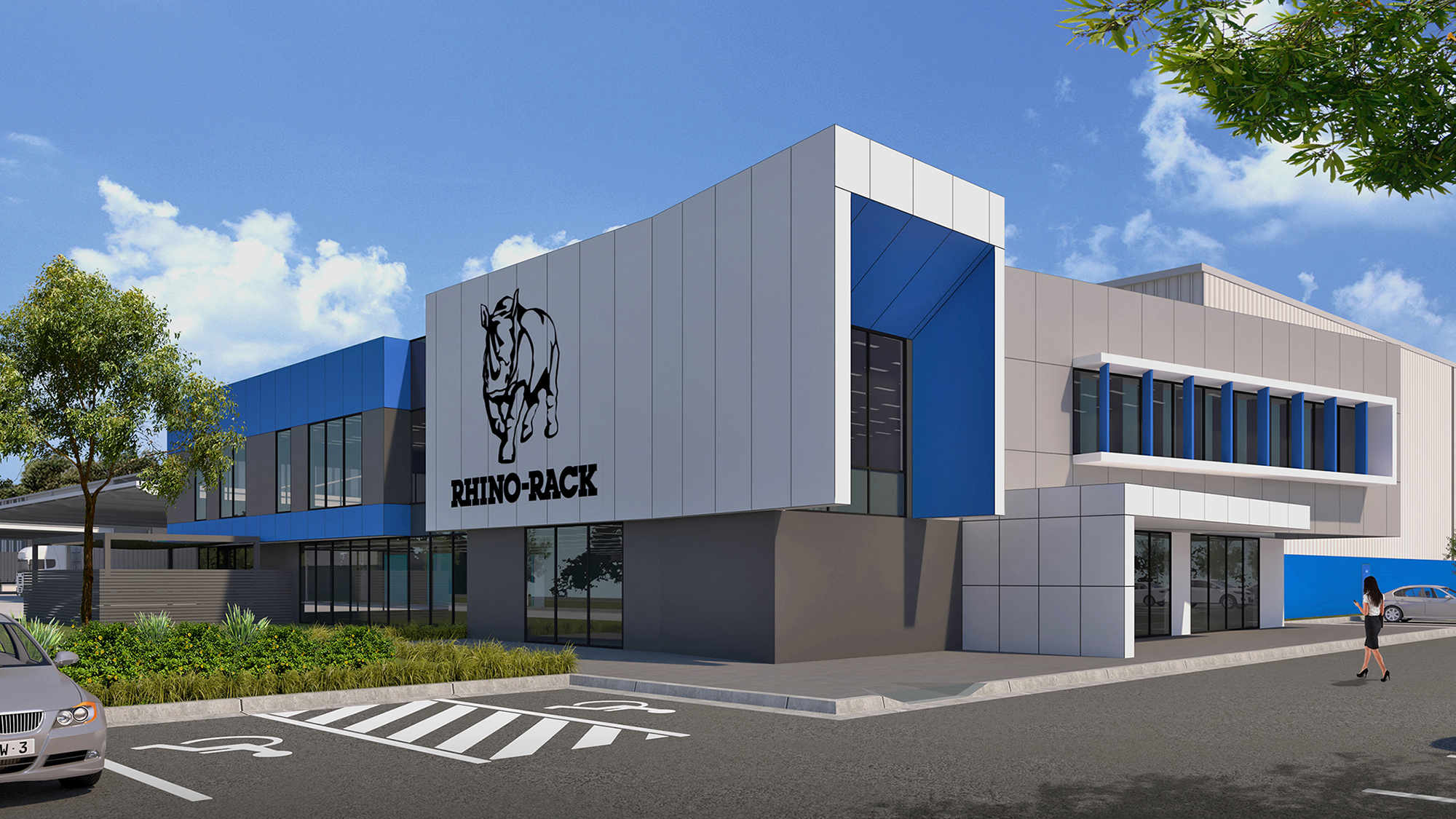 Rhino Rack facility Eastern Creek Business Park