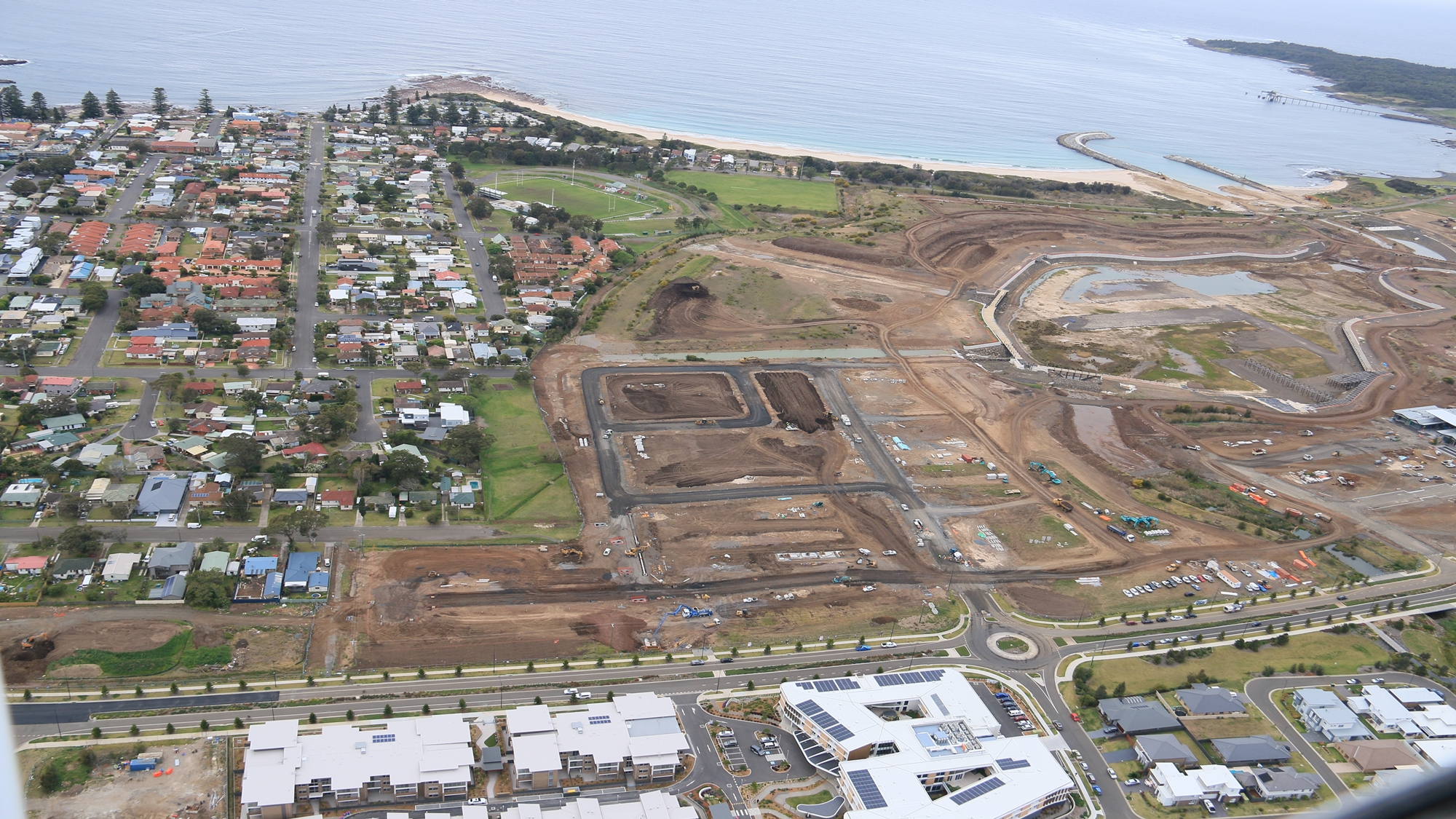 The Waterfront Construction Aerial Images September 2018