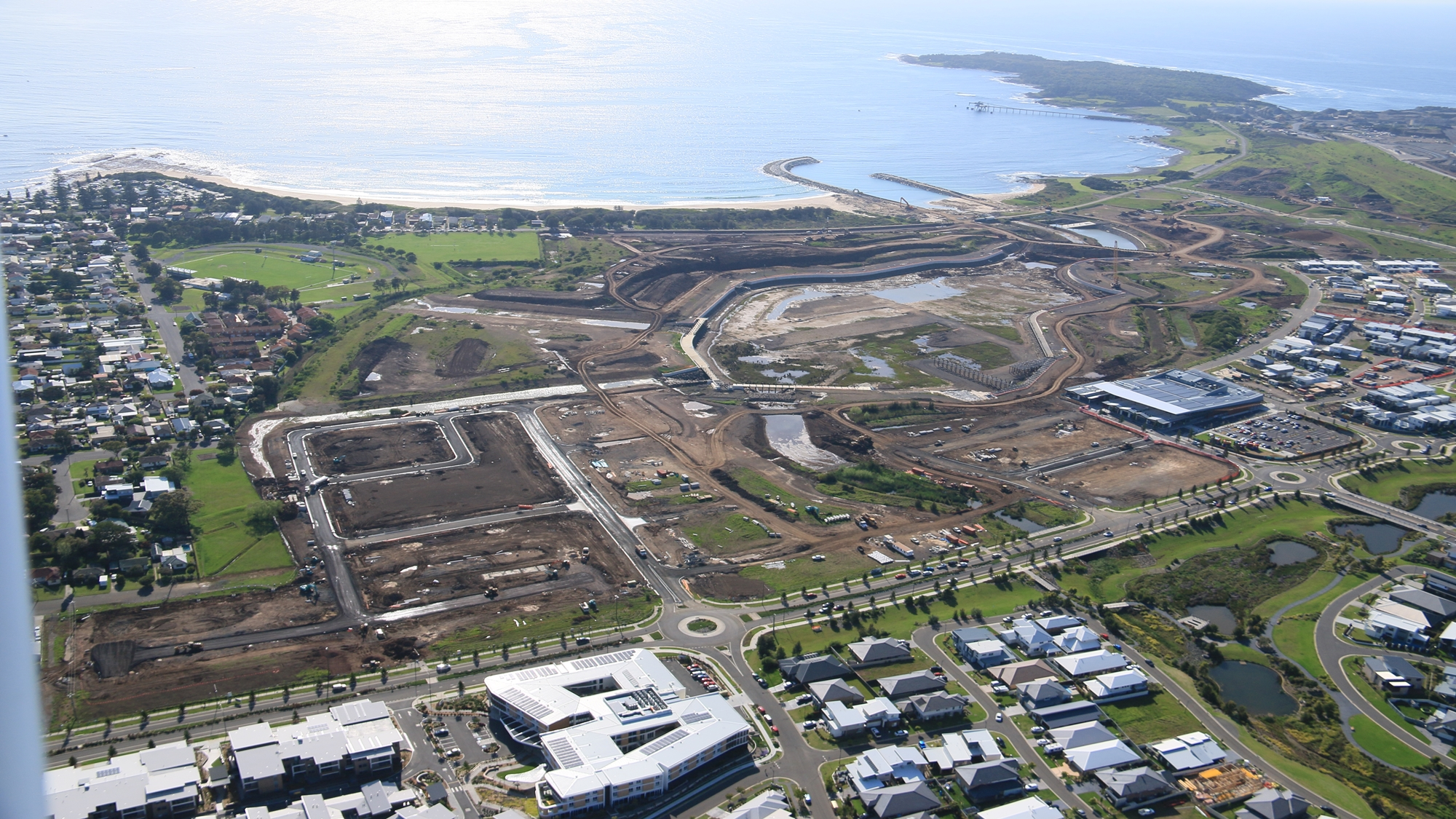 The Waterfront Shell Cove construction images