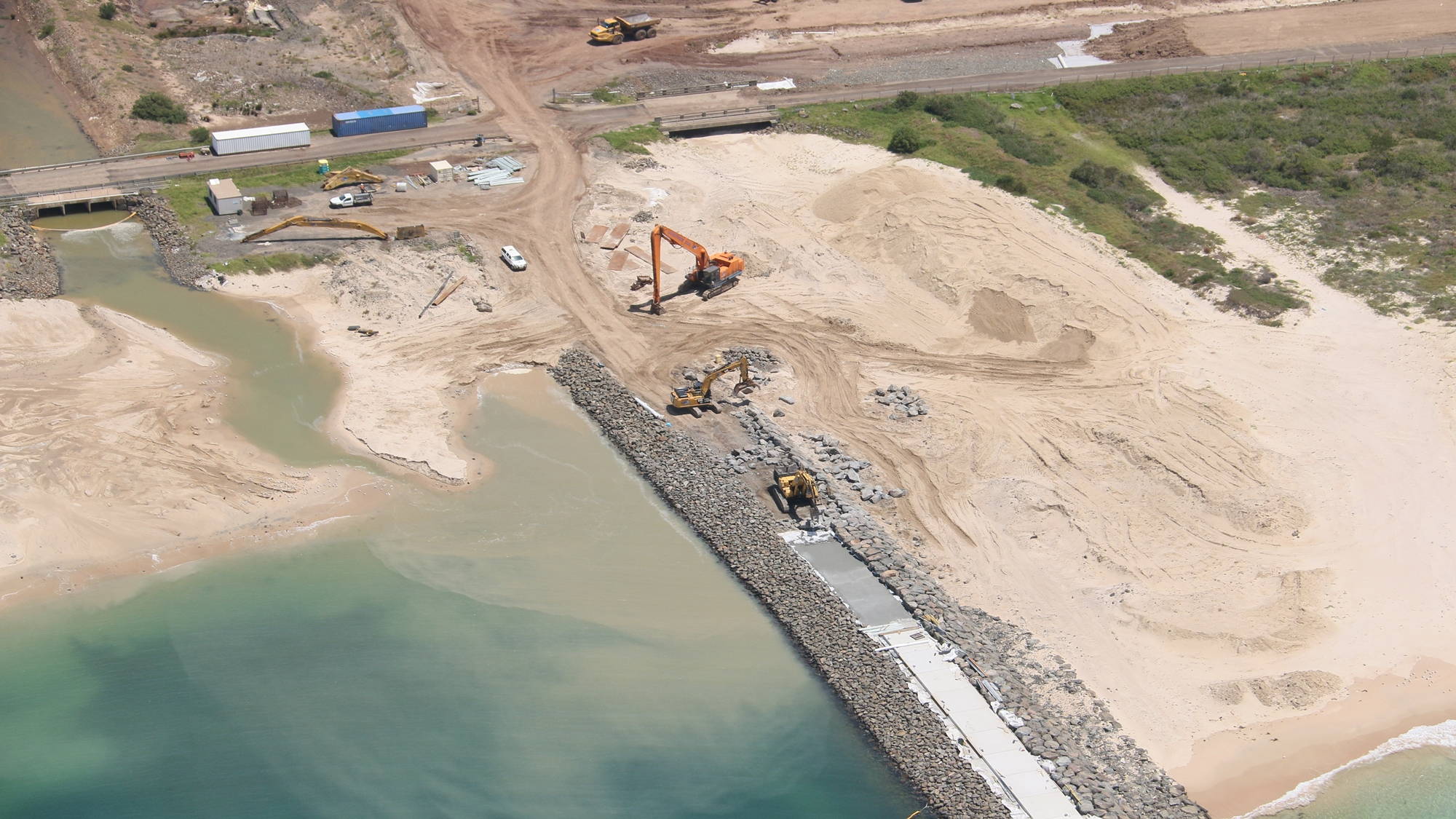 Construction images The Waterfront Shell Cove November 2018