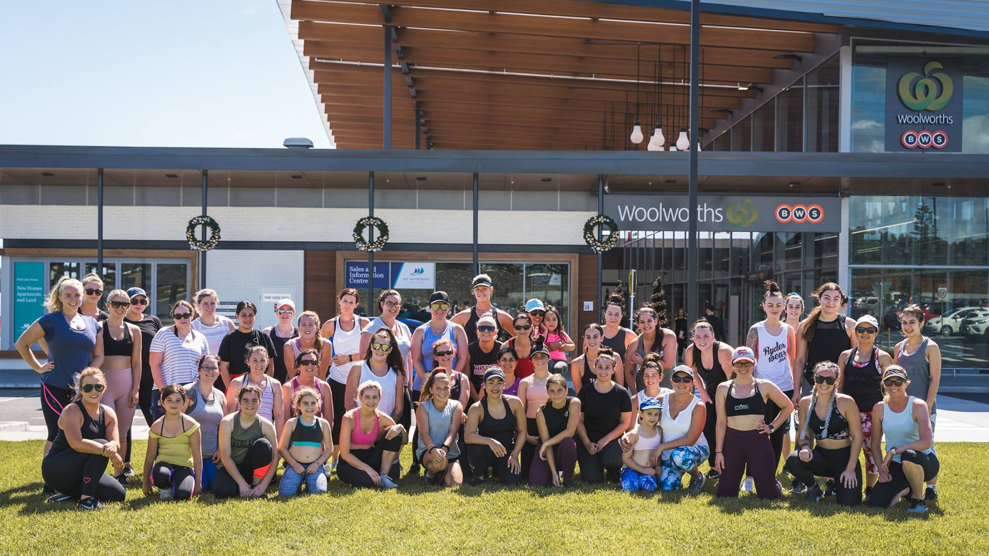 Lisa Trujillo Bootcamp at The Waterfront Town Centre