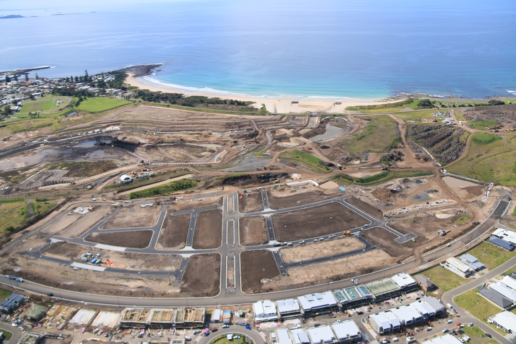 Shell Cove August Aerial Image