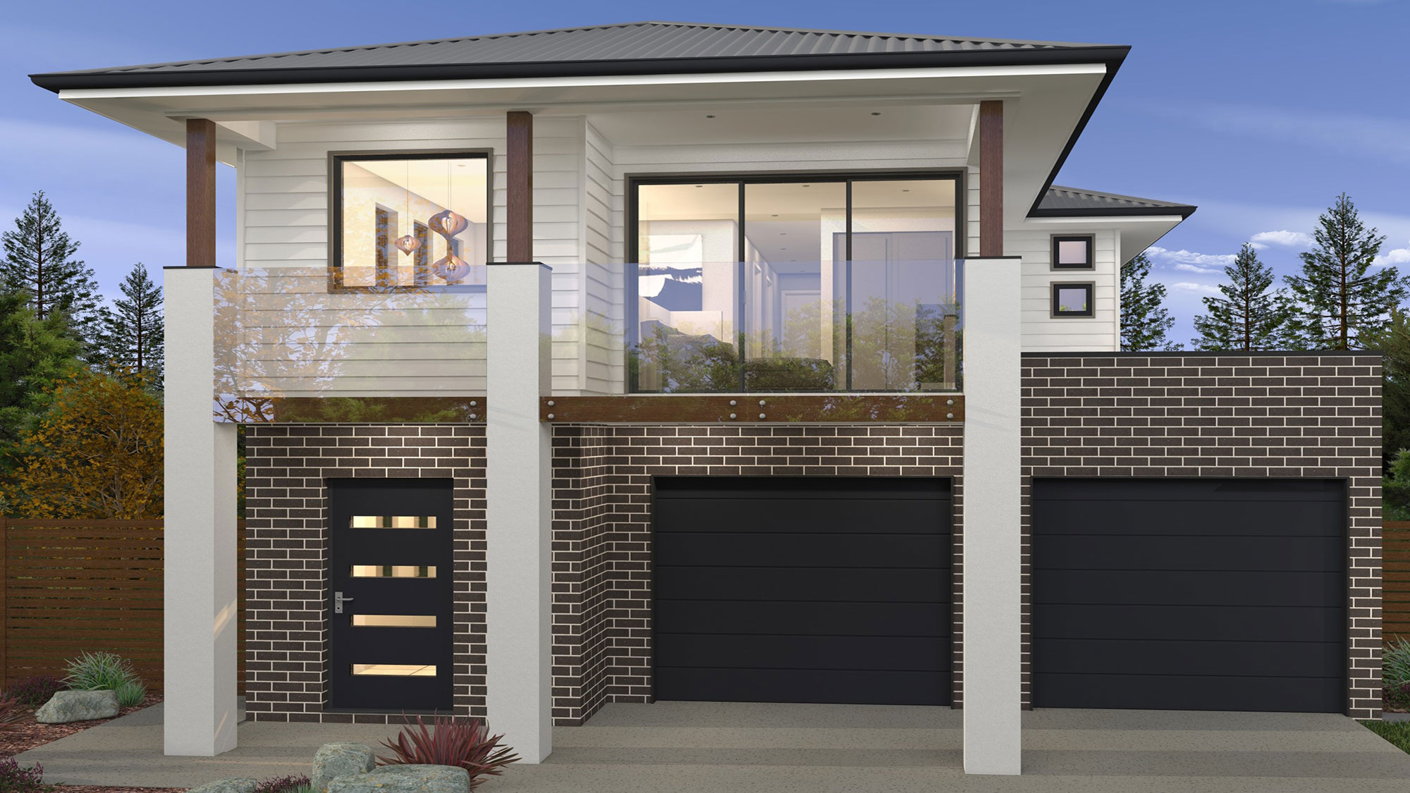 Brookhaven Lot 465 Facade Greenstreet Homes Frasers Property Australia