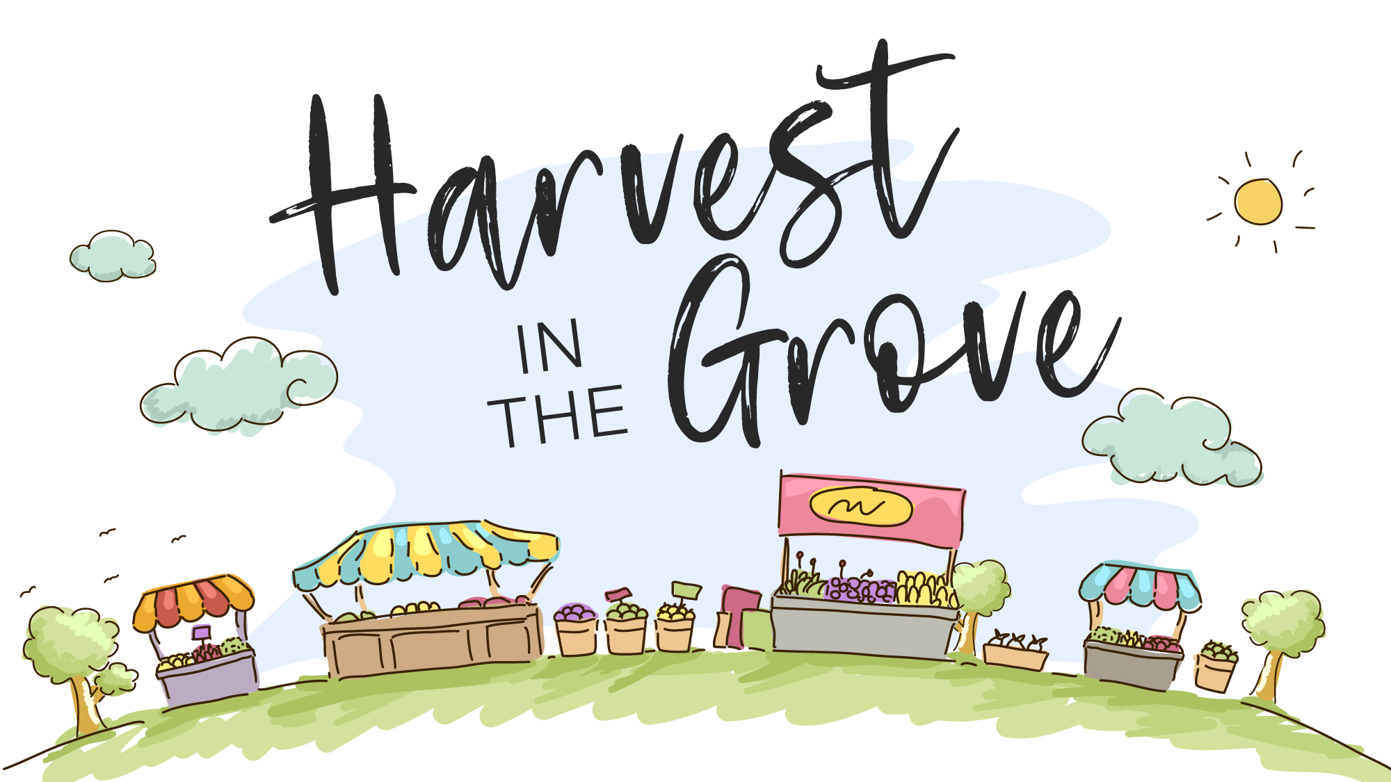 Harvest in the Grove at Baldivis Grove