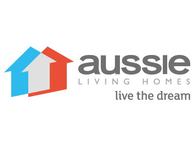 Aussie Living Homes logo