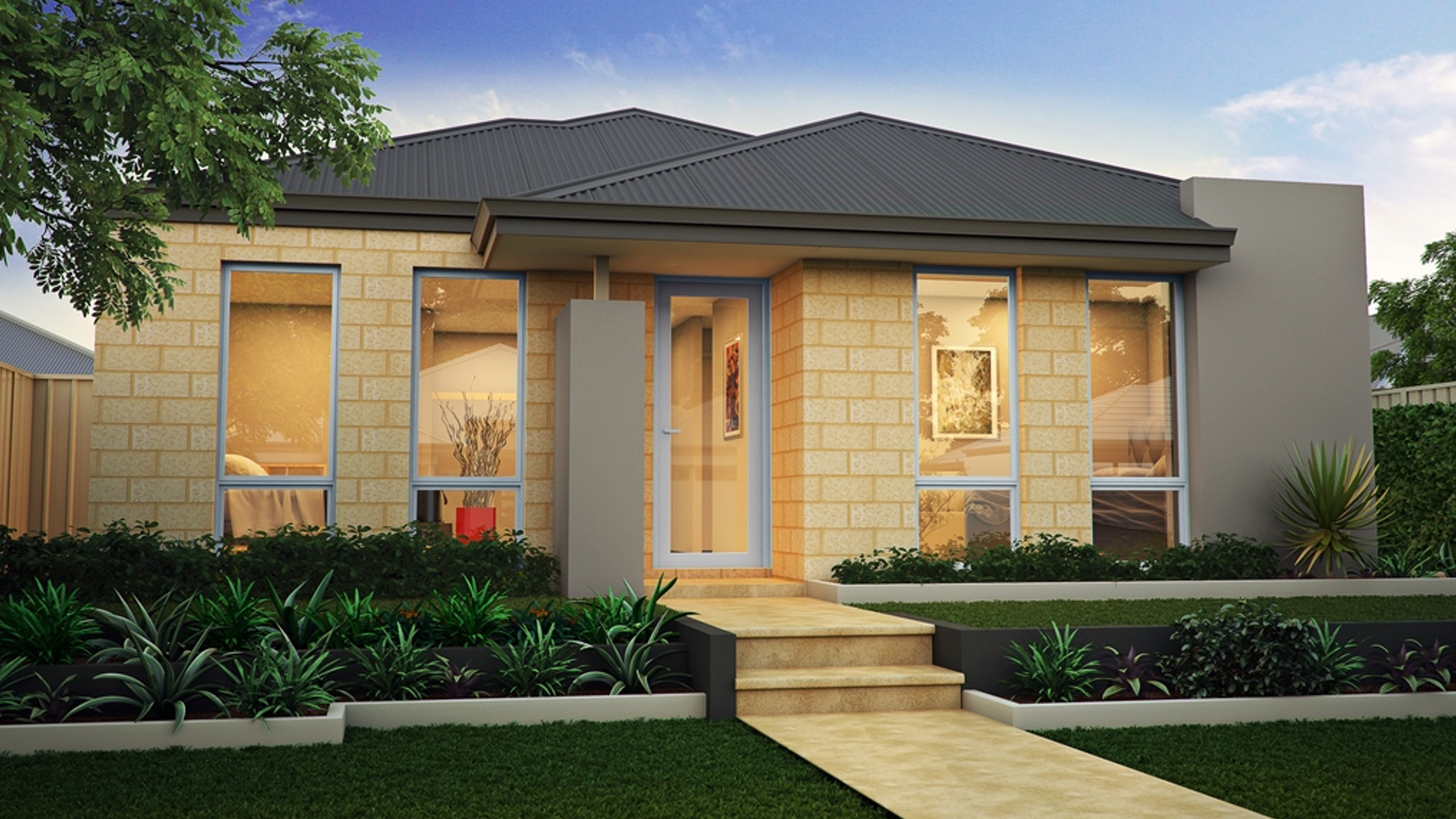 The Stuart elevation from SmoothStart Homes