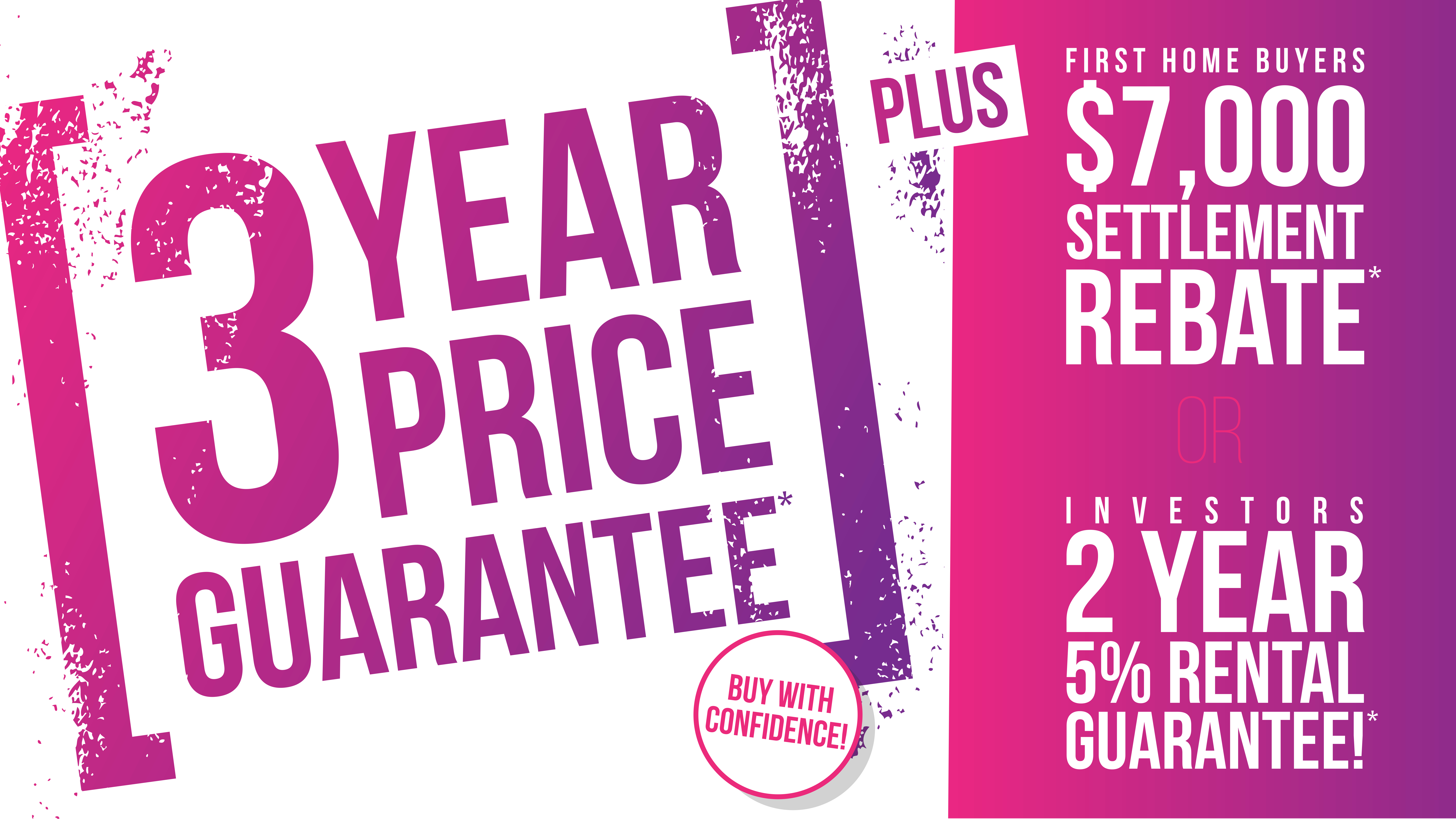 Cockburn Living - 3 Year Price Guarantee*