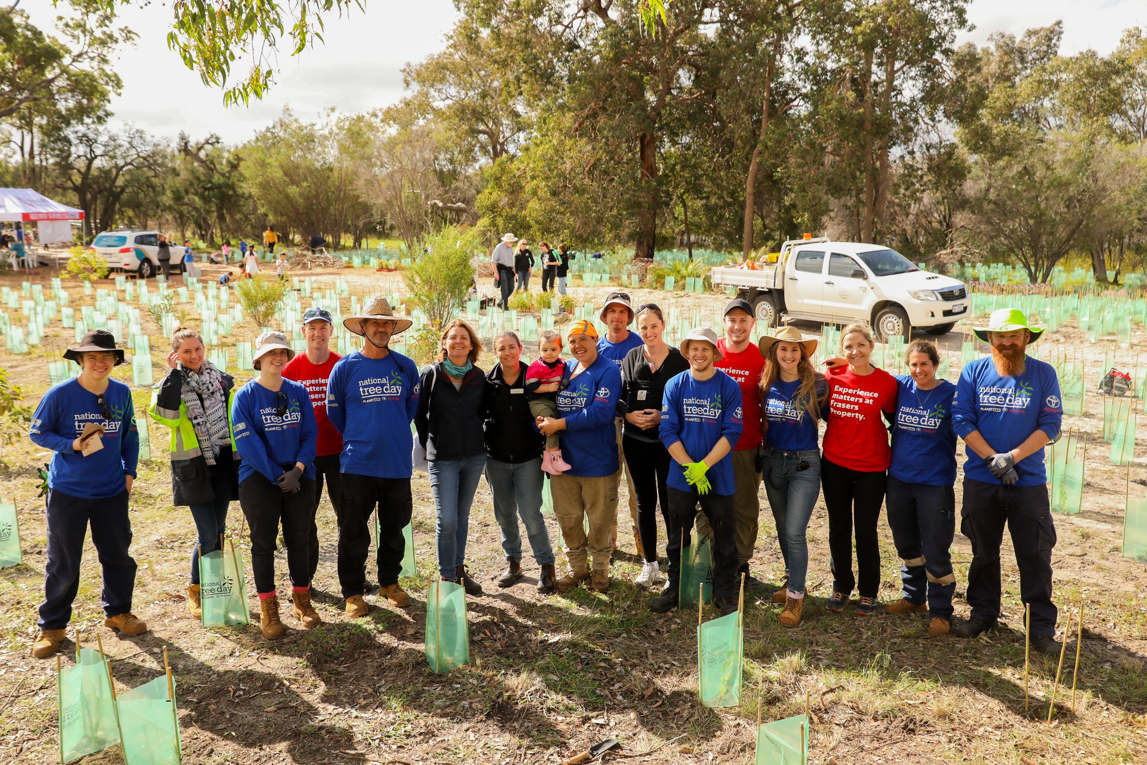 National Tree Day 2018 at Frasers Landing