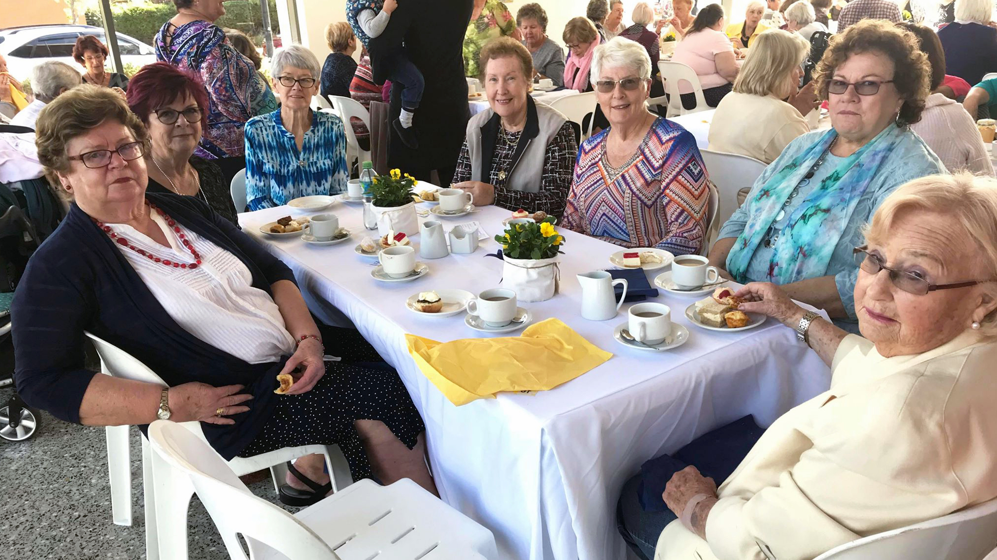 Silkwood Ladies Biggest Morning Tea