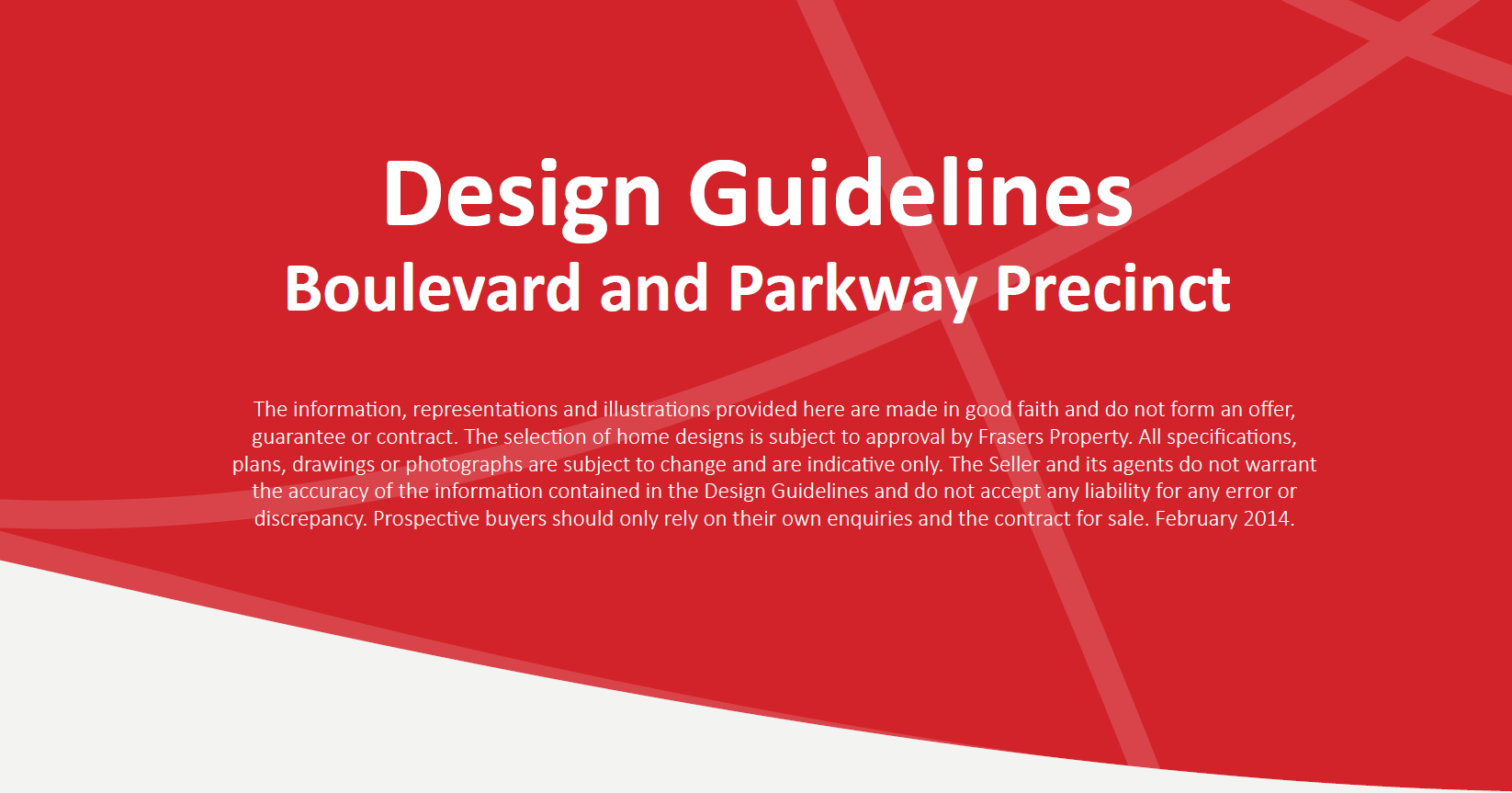 Design Guidelines Boulevard and Parkway