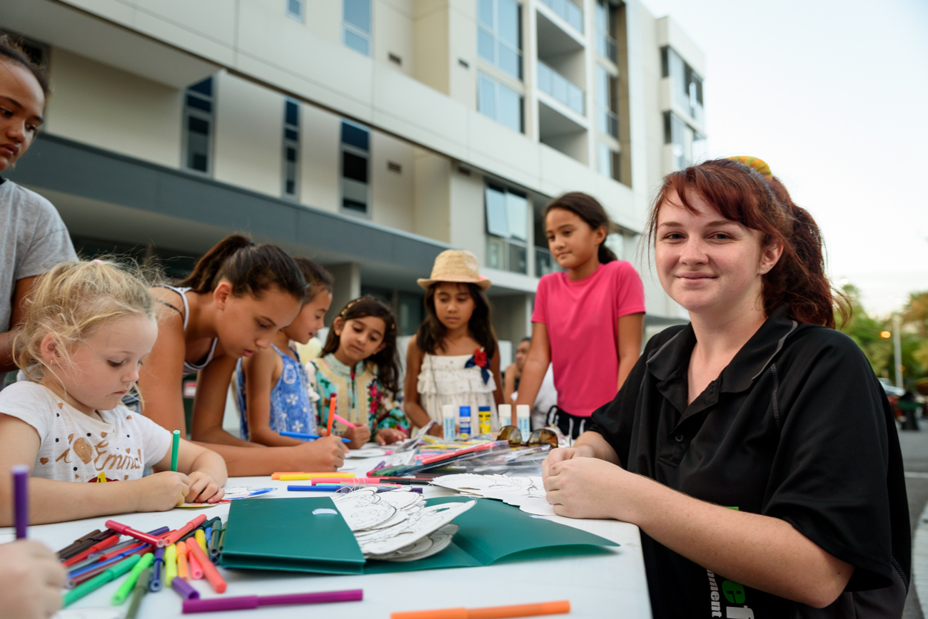 Kids activities at Harmony Day