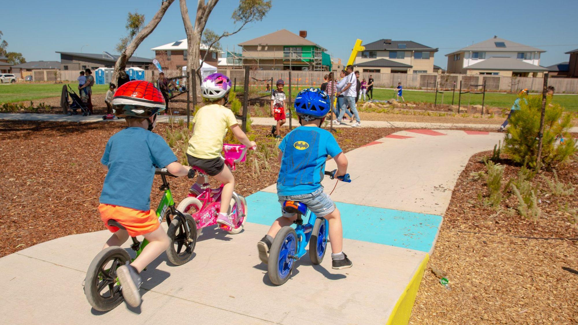 Berwick Waters' Grand Prix Park gets the tick with families